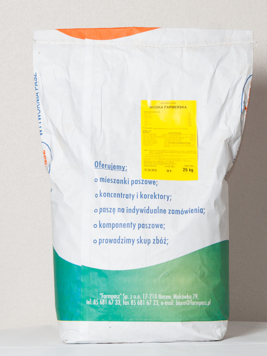 Nioska Farmerska kruszonka worek 25 kg